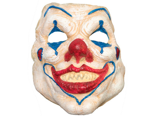Evil Clown. Soft, unpainted foam prosthetics, once glued onto your face, will move with each facial expression.  Talk, drink and eat with these super realistic creations.  Requires spirit gum, latex and makeup - sold separately with our other makeup accessories.