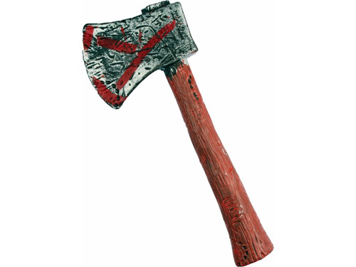 Realistic looking hand-held ax. Perfect for that medieval look.