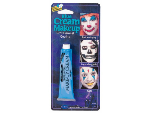 Create your own scary face with your favorite water soluble makeup colors in squeezable 1oz tubes on a full color blister card.
