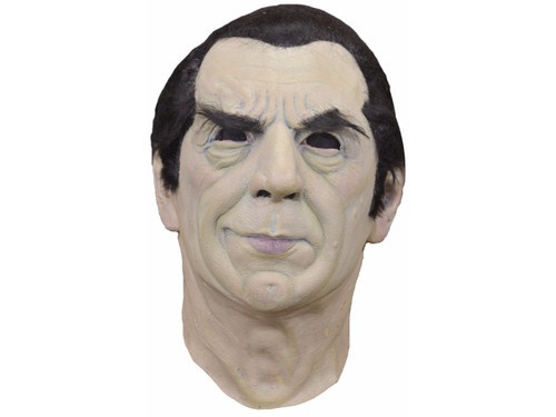 The first officially licensed Bela Lugosi mask directly from the Lugosi family. The detail on this mask is incredible. Full over-the-head latex mask.