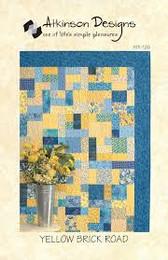 Atkinson Designs - Yellow Brick Road Quilt #126
