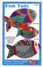 Wonder Woman Quilts - Fish Tails 1401