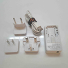 Power charger with electrical cable & plugs