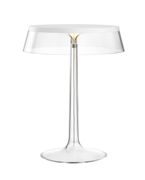 Bon Jour Modern Glass Table Lamp by Philippe Starck FLOS USA