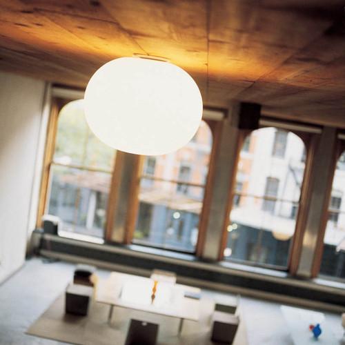 Glo-Ball C Modern Sphere Flush Ceiling Ceiling Light | FLOS USA