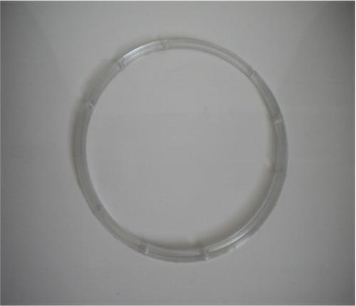 Plastic ring support