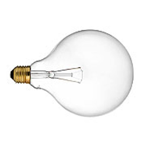 25W G40 Clear Incandescent