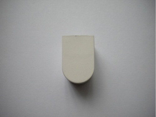 Fuscia small end cap for arm