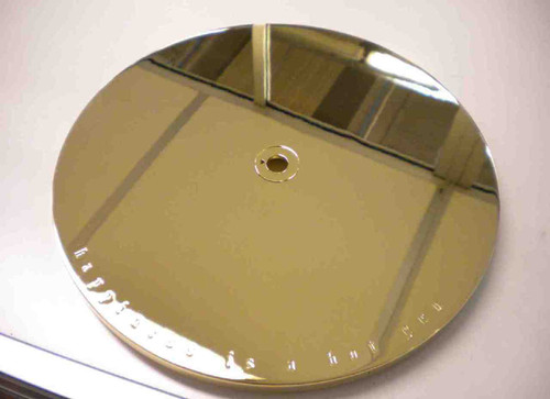 Table Gun shiny gold lux base