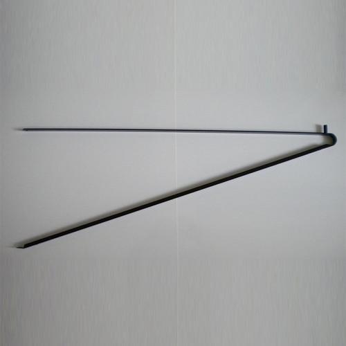 White triangle bracket support