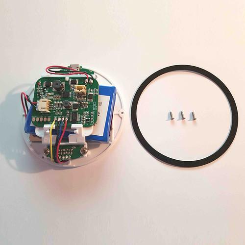 Base assembly with battery kit