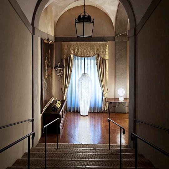 Chrysalis Floor Lamp Cocoon by Marcel Wanders