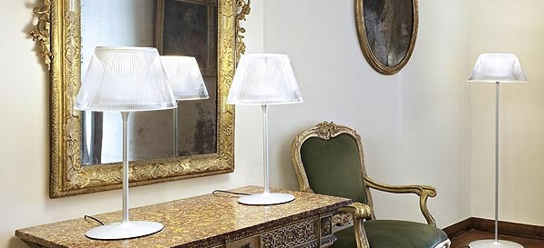 Romeo Moon Table Lamp by Philippe Starck
