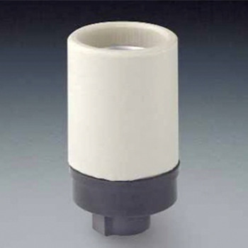 E26 Lampholder with joint and fixing screw
