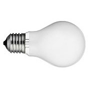 200W A-21 Medium Frosted Incandescent