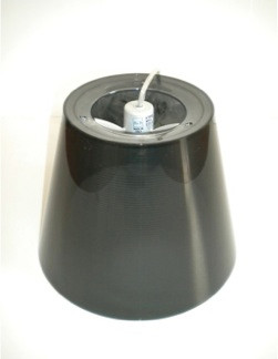 Ktribe S1 (fume) external diffuser assembly with lampholder and electrical cable