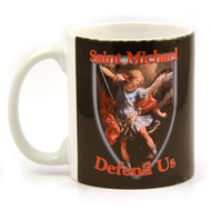Saint Michael Defend Us Mug
