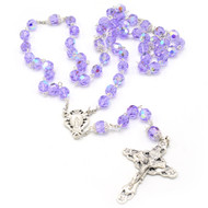 Violet Crystal Collection Rosary