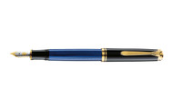 Pelikan Souveran 400 Blue Black Fountain Pen