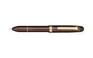Sailor 1911 Multi 4 3 Color Ballpoint Pen and Pencil 0.5mm Brown Multipen
