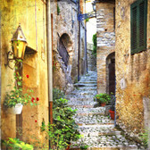 Beautiful Old Streets Of Italian Villages Photograph