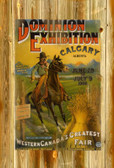 Calgary Expo And Western Fair Rodeo 1908  11 X 17 Inches