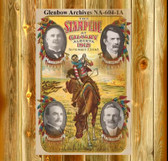 Calgary Stampede Rodeo Poster 1912   11 X 11 Inches