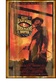 High Plains Drifter Clint Eastwood Old Wooden Sign 11 x 17 x 1
