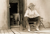 Lonesome Dove 8 x 10 Gloss Photo On Porch ii