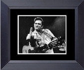 Johnny Cash And His Middle Finger Wave