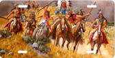 Native American Indian A Show Of Force License Plate Auto