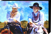 A Fully Wrap All Canvas Print Leaving Lonesome Dove  20 x 30