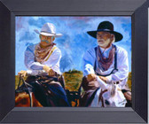 Leaving Lonesome Dove Framed Art Photograph Print