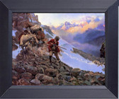 Whose Meat Charles Russell Framed Art Photograph Print