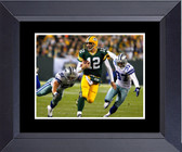 Green Bay Packer Super Bowl Champs Xlv Aaron Rodgers Out Runs The Dalls Cowboys