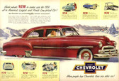 Chevy Poster 12 X 18 POSTERS