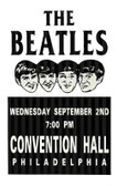 Beatles Philly 12 X 18 POSTERS