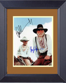 Lonesome Dove Gus and Call Framed Print ii