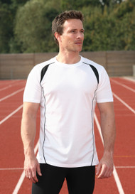 Mens Running T-shirt & Vest