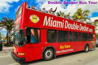 Miami Double Decker Bus Tour