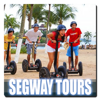 Miami Beach is a great place to rent a Segway.  You can tour Miami Beach and even cross the Venetian Causeway. This is the most fun you can have on two wheels!