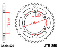 Catalina JTR855.45 XT660Z/R Tenere (JTR855.45)
