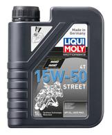 Aceite Liqui-Moly 4T Sintético Street 15w-50 (4TSYNTH15W-50S)