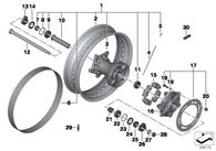 Banda Interna de Neumático 17/45mm Para F800GS / F800GSA