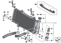 Radiador BMW F800GS