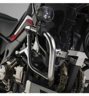 Protector de motor acero inox SW-Motech, específicamente para:  Honda CRF1000L Africa Twin (desde 2016) Disponible en color plata (acero inox)