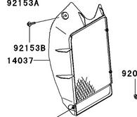 Protector de Radiador Kawasaki KLR650 (KAW-KLR650-14037-0056)
