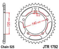 Catalina JT Sprockets Suzuki DL650 > 04 (JTR1792)