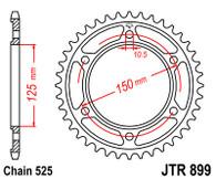 Catalina JT Sprockets para KTM 950 / 990