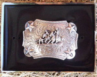 Nocona Kid's Team Roper Western Belt Buckle